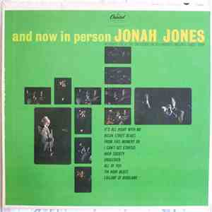 Jonah Jones - And Now In Person Jonah Jones download free