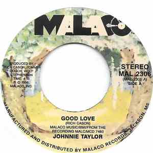 Johnnie Taylor - Good Love download free