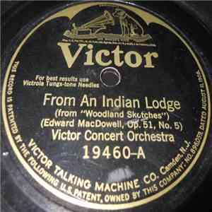 Victor Concert Orchestra - From An Indian Lodge / Love Song download free
