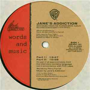 Jane's Addiction - Words And Music download free
